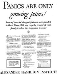 Great Depression Ad