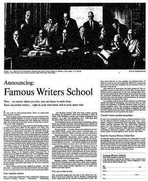 Famous Writers School