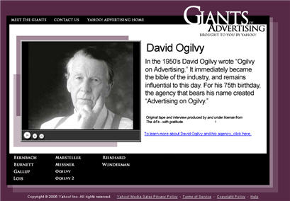 David Ogilvy Interview