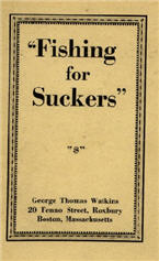 Fishing For Suckers